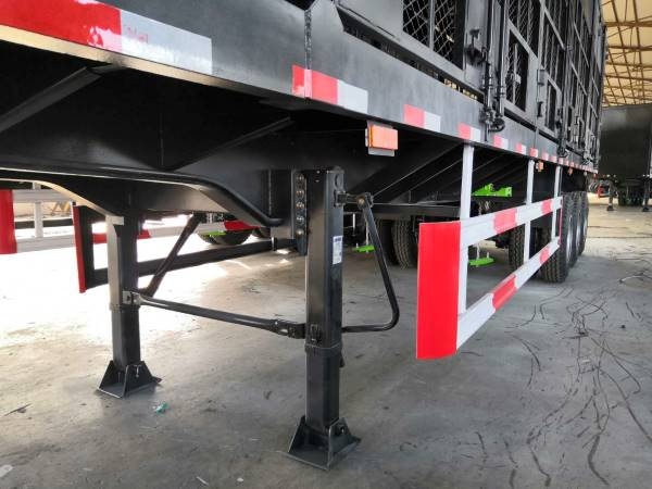 40 Tons Warehouse Fence Cargo Trailer