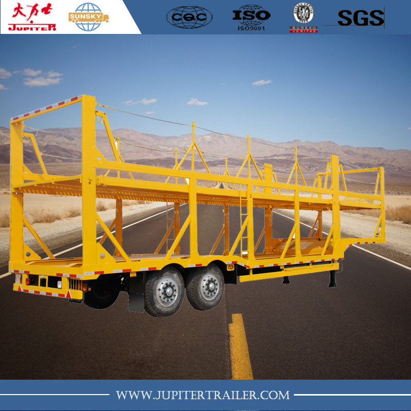Japanese type car carrier trailer