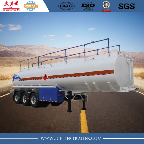 3-axle Fuel tanker semi-trailer