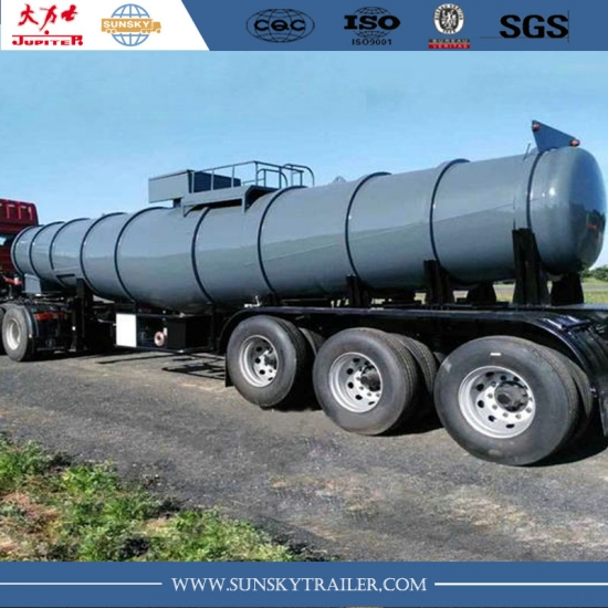 18,000 Liters stainless steel v shape acid tanker semi-trailer