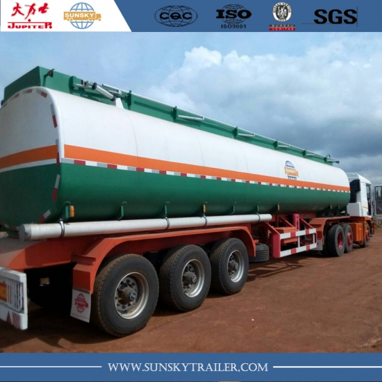 40,000 liters Fuel tanker semi-trailer from China