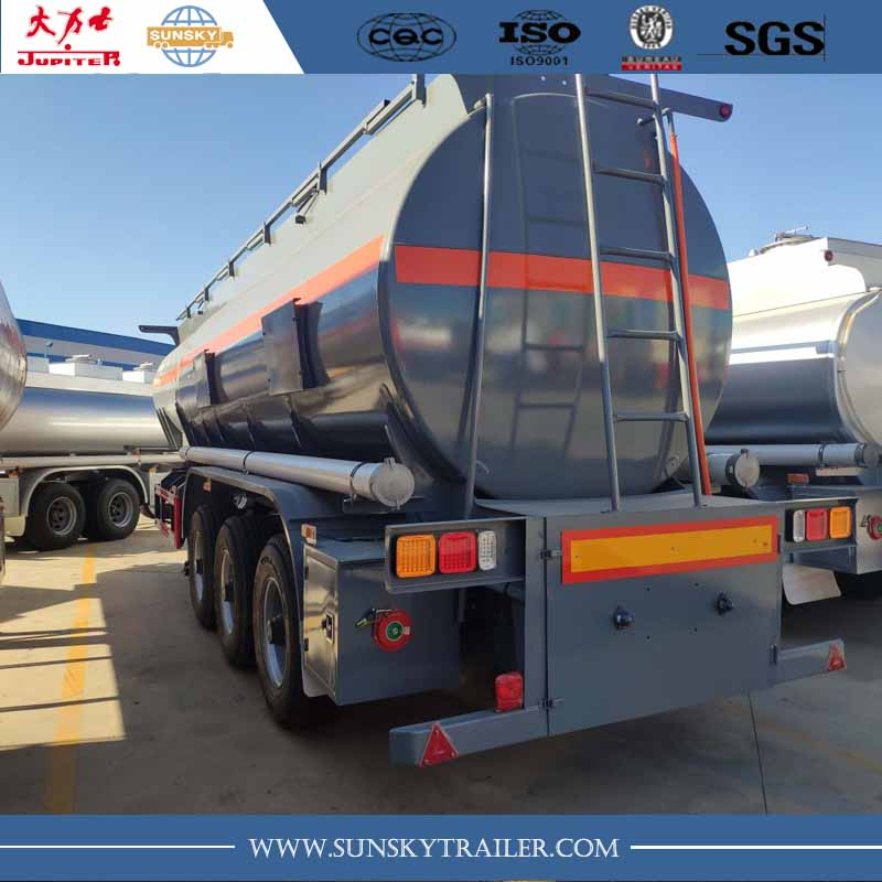 Hydrochloric Acid tanker trailer for sale